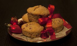 Cranberry-Walnuss-Muffins