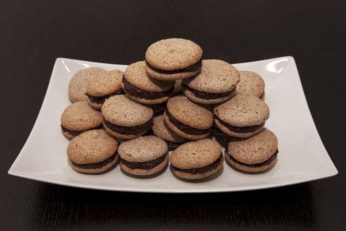 rezept schokoladen makronen recipes simply delicious. Black Bedroom Furniture Sets. Home Design Ideas