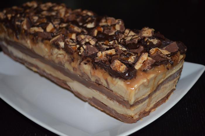 Rezept Snickers Eistorte Recipes Simply Delicious
