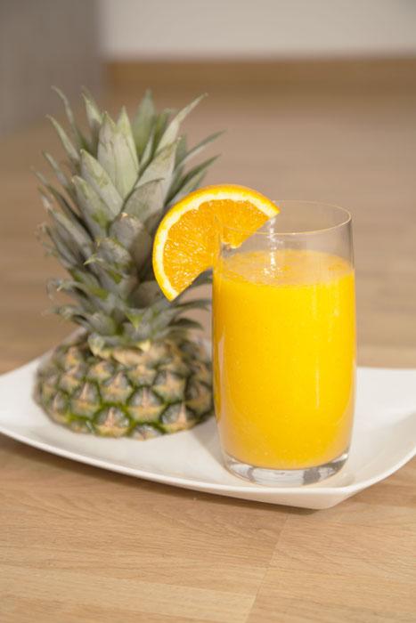 rezept mango ananas smoothie recipes simply delicious. Black Bedroom Furniture Sets. Home Design Ideas