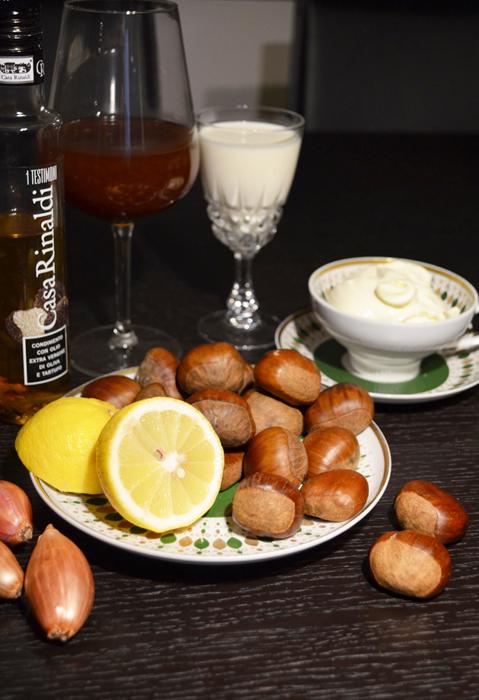 chestnuts-truffle-oil-creme-fraiche