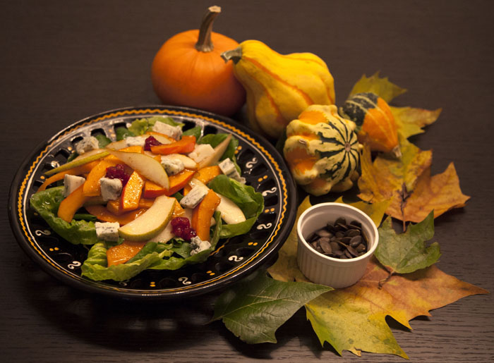 Recipe: Pumpkin-Pear Salad with Gorgonzola Cheese – Recipes. Simply ...