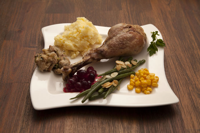 turkey-almond-beans-mashed-potatoes-2