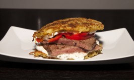 Recipe for Beef-Hash Brown Burger