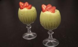 Avocado-Marzipan Cream