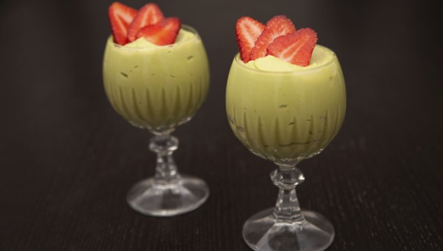 Avocado-Marzipan Cream