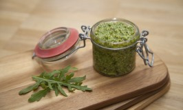 Mint-Rucola-Pesto