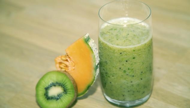 Melon-Lettuce Smoothie