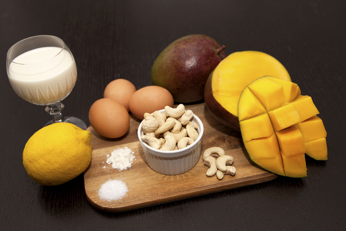 ingredients-mango-cashew-tart