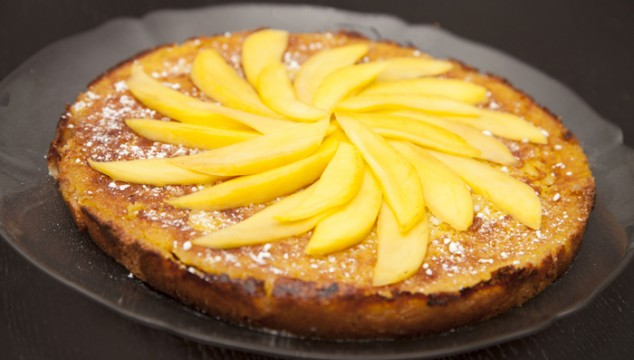 Mango-Cashew Tart