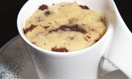 Chocolate Chip Cookie Mug Cake