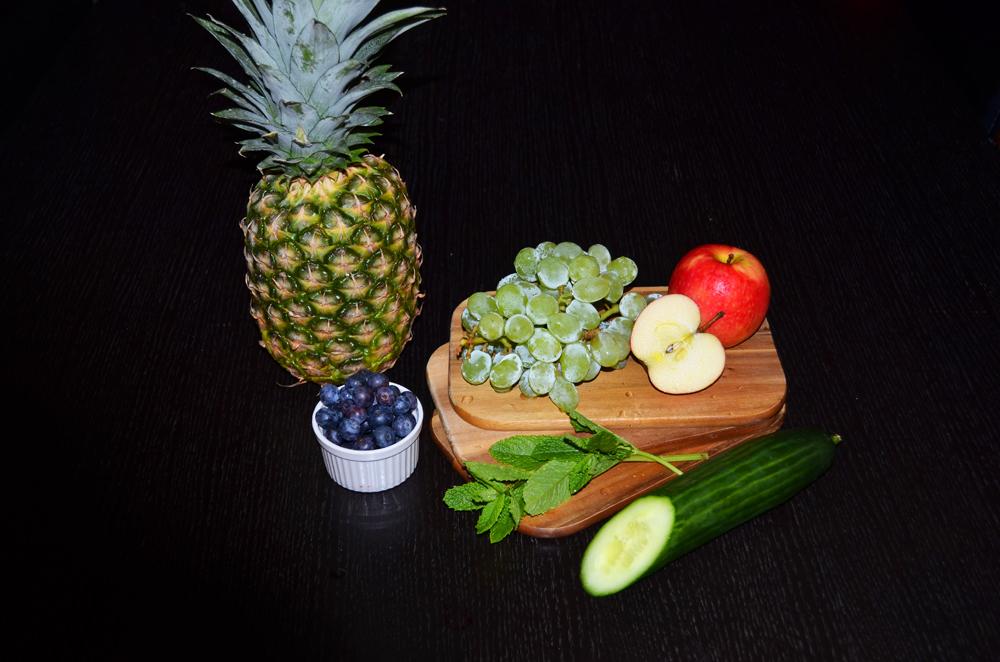 ingredients-pineapple-grapes-gherkin-salad-1
