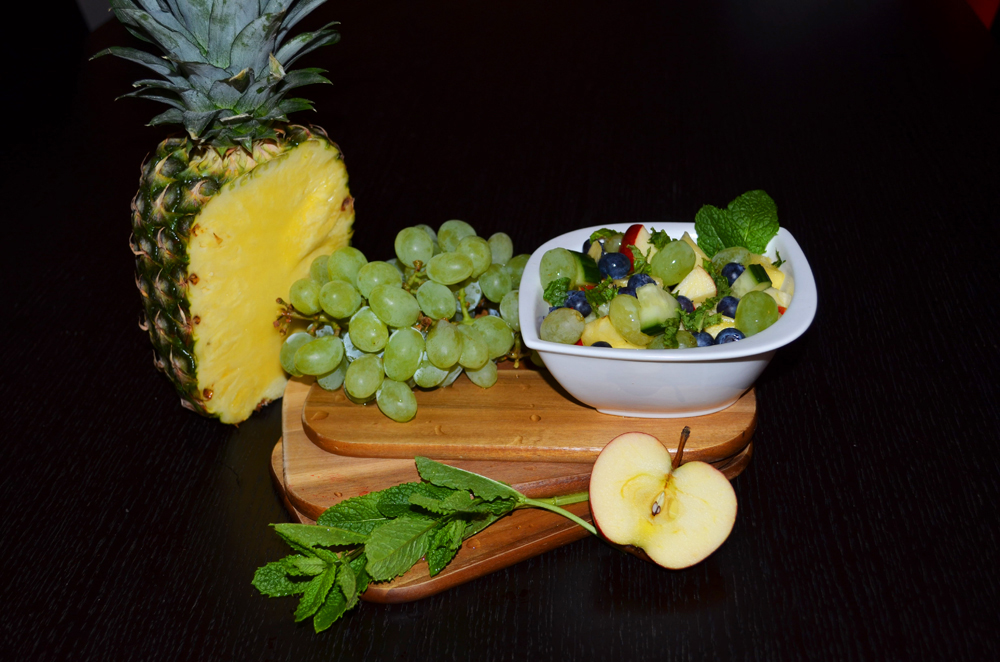 pineapple-grapes-gherkin-salad-5
